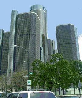 デトロイトの中心部